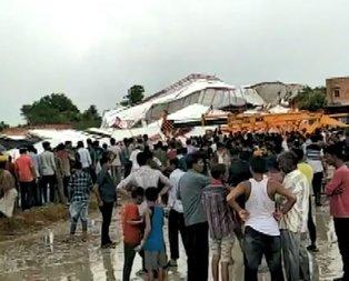 Dini etkinlikte çadır çöktü: Çok sayıda ölü var