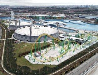 Avrupa'nın en büyük tema parkı ANKAPARK açıldı