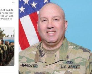 ABD'li komutan Wayne Marotto terör örgütü PKK/YPG/PYD/SDG'yi Twitter üzerinden övdü: Gururlu bir miras oluşturdu
