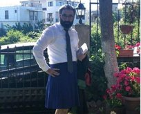 CHP'li avukat İbrahim Karslı'dan etekli protesto
