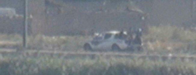 Son dakika: YPG/PKK'lı teröristlerin Kamışlı'daki konvoyu görüntülendi