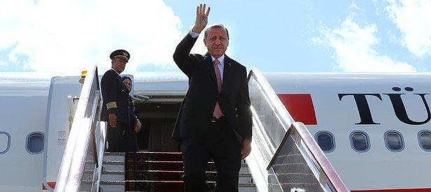 Cumhurbaşkanı Erdoğan Kuveyte hareket etti