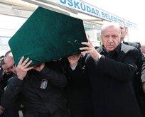 Eski İTO Başkanı'na veda! Erdoğan tabuta omuz verdi