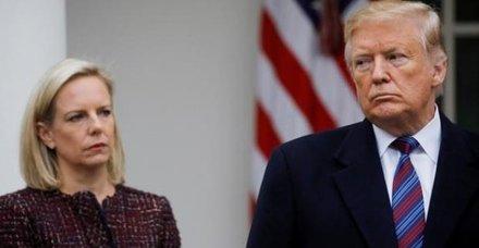 Donald Trump, Kirstjen Nielsen'ın görevinden ayrılacağını açıkladı!