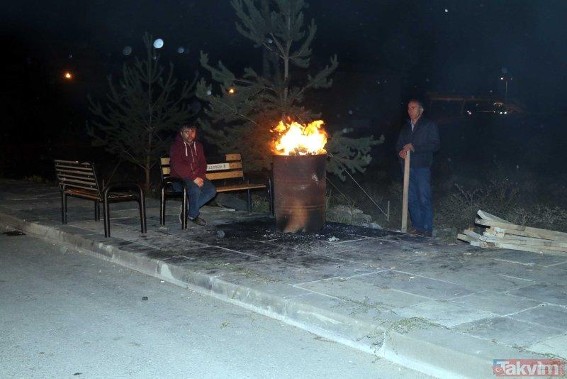 Çankırı'daki sarsıntılar vatandaşı sokağa döktü