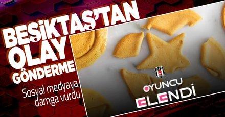 Beşiktaş'tan G.Saray'a Squid Game göndermesi