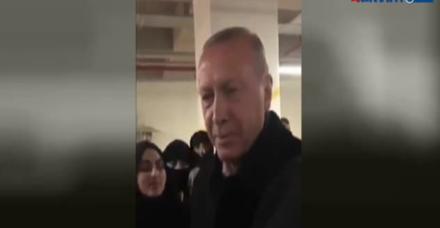 Kur'an kursu öğrencilerinden 'Erdoğan'a dua