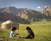Kırgızistanın doğal güzellikleri