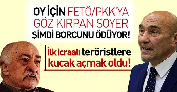 İlk icraatı FETÖ'cü ve PKK'lılara kucak açmak oldu