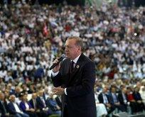 Erdoğan: Bunu yaparsak devran farklı dönecek