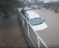 Bodrum'daki sel felaketi saniye saniye böyle kaydedildi