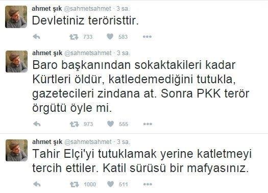Ahmet Şık'a 'Katil Devlet' davası! - Takvim