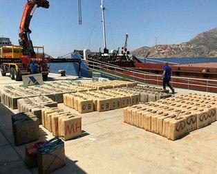 Türk timleri Cezayir açıklarında ele geçirdi! Tam 12 ton...