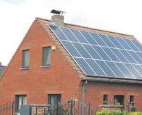 Çatıdan elektrik kazandıracak