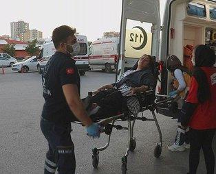 Sivas'ta düdüklü tencere bomba gibi patladı! 1 yaralı