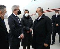 Dışişleri Bakanı Çavuşoğlu'ndan kritik ziyaret