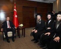 Erdoğan o cemaatin üyelerini kabul etti