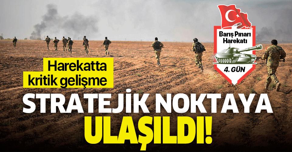 Son dakika: Barış Pınarı Harekatı'nda yeni gelişme! Suriye Milli Ordusu stratejik noktada
