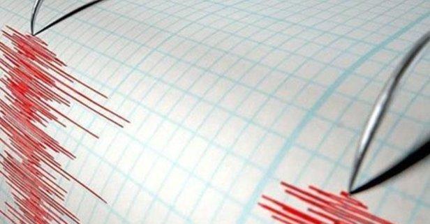 O ilimizde 3,1 büyüklüğünde deprem