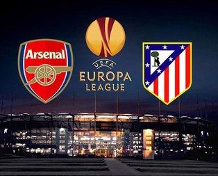 Arsenal Atletico Madridi konuk ediyor