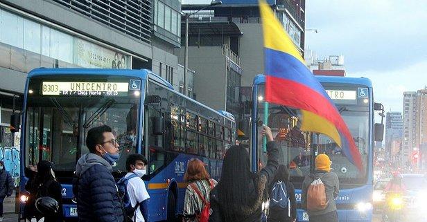 Kolombiya'da tansiyon düşmüyor! Ölü sayısı yükseldi