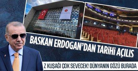 Başkan Erdoğan Yeni AKM'yi 13 yıl sonra açacak! Dünyanın gözü İstanbul'da