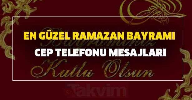 2020 Ramazan Bayramı kutlama mesajları sözleri