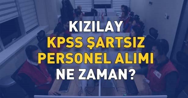 Kızılay'a KPSS'siz personel alımı yapılacak