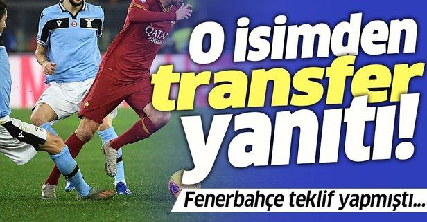 Fenerbahçe teklif yapmıştı! O isimden transfer cevabı