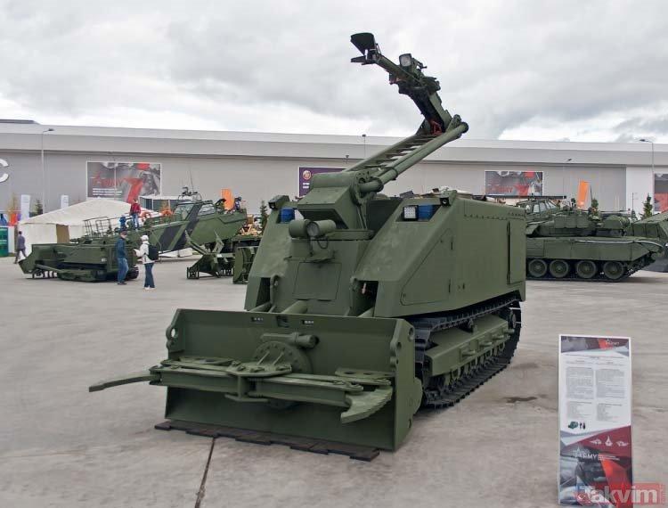 Kalaşnikof'un Rus ordusu için ürettiği araçlar