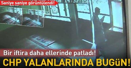 """CHP'nin """"camide Erdoğan afişleri"""" yalanı ifşa oldu"""