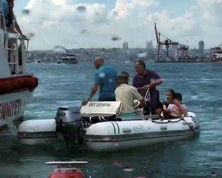 Kadıköy'de can pazarı! Tekne devrildi