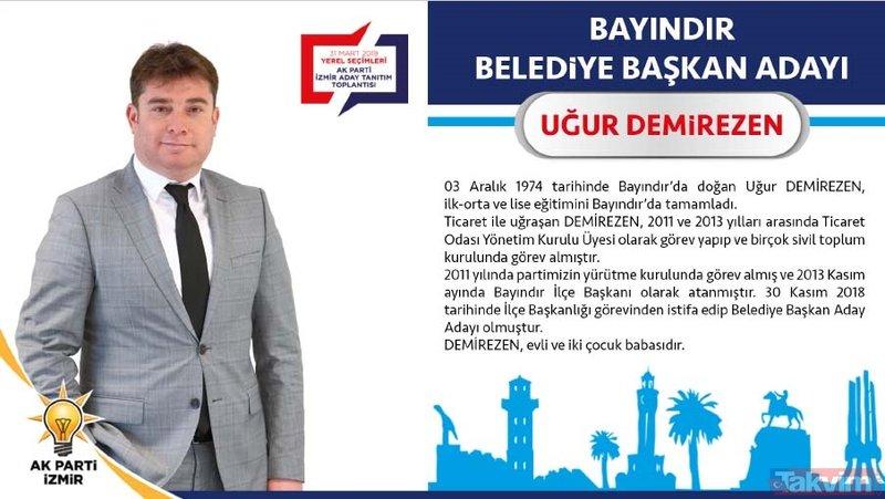 AK Parti İzmir ilçe belediye başkan adayları kimdir? İşte isim isim liste