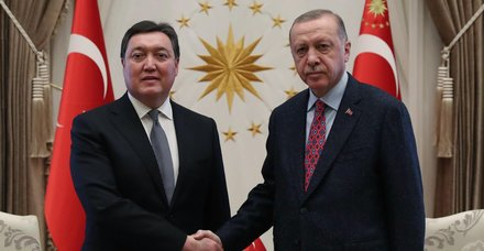 Son dakika: Başkan Erdoğan, Kazakistan Başbakanı Mamin'i kabul etti