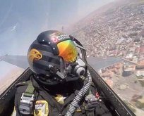 SOLOTÜRK Sivas'ta saygı ve selamlama uçuşu yaptı