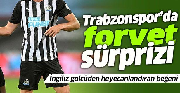 Trabzonspor'da forvet sürprizi