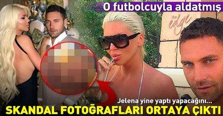 Tosic'in eşi Jelena Karleusa'nın o futbolcuya yolladığı çıplak fotoğraflar sızdı (Futbolcuların eşleri ve sevgilileri)