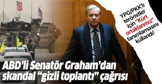 Senatör Graham'dan skandal gizli toplantı çağrısı
