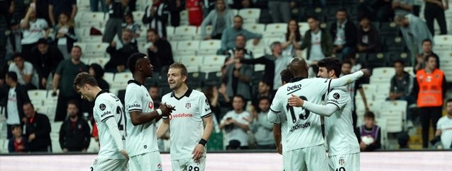 Beşiktaş'tan 3 puanlı kapanış!