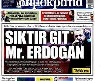 Yunan paçavrası 'Dimokratia' kudurdu! Başkan Erdoğan hakkında haddini aşan sözler!
