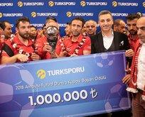 Kahramanlara 1 milyon lira ödül