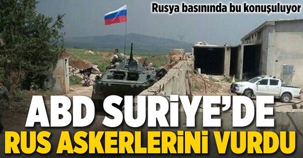 ABD Suriyede Rus askerlerini öldürdü