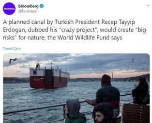 Amerika'da Kanal İstanbul paniği