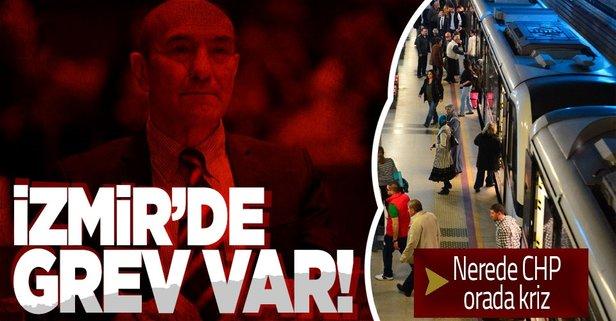 İzmir'de metro çalışanları greve gidiyor!