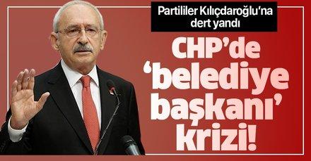 CHP'de vekillerin 'belediye başkanı' isyanı