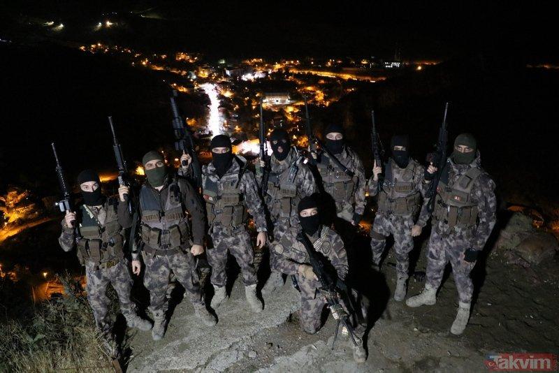 'Sınır Kartalları' 24 saat nöbette! Bölgede kuş uçurtmuyorlar