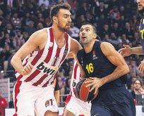Vesely'siz F.Bahçe Olympiakos'u yıktı