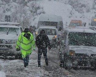 Meteoroloji uyardı! Yoğun kar yağışı var