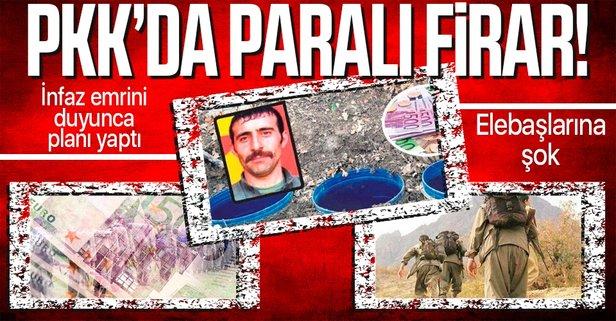 PKK'nın haraççısı 200 bin Euro ile kaçtı