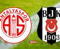 Antalyaspor Beşiktaş maçı ne zaman, saat kaçta?
